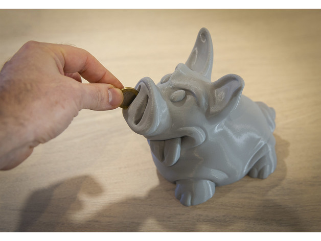 Piggy PiggyBank by lecaramel - Thingiverse