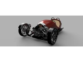 Morgan_like three wheeler