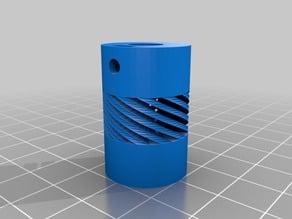 Acople Flexible de 5 a 8mm Diametro exterior 20mm