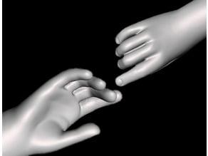 boy's hand