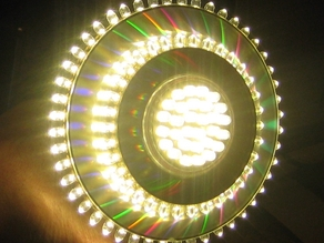 CD 5mm led ring light 220v (48+32 leds)