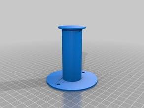 simple cylinder wall peg hanger screw primitives