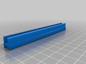 Strip LED  holder for prusa i3 6mm alu frame