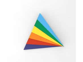 Rainbow Badge - Rainbow Cup - version 2