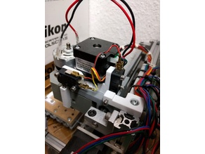 1610 CNC end stops / homing switches (X and Z adjustable)