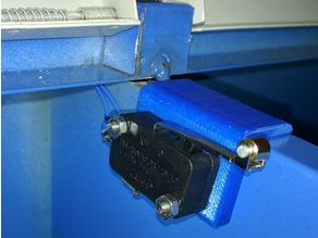 Lid/Cover Switch Mount for K40 Laser