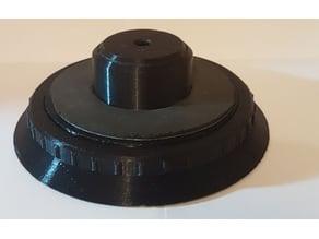 Flat spool holder