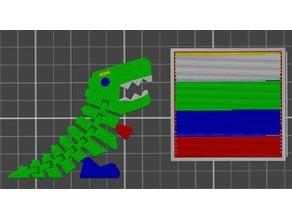 Multicolor Flexi Rexy
