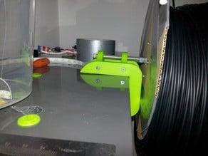 Ikea 5cm ledge filament spool holder.