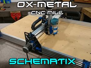 OX-Metal CNC Router Mill