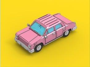 Simpsons inspired Comic Car