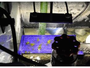 Algae Turf Filter and Light
