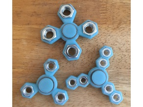 What-the-Hex (pick-a-weight) Fidget Spinner
