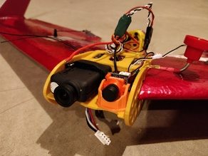 Foxeer Micro Cam FPV Plane mount