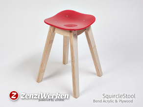 SquircleStool cnc
