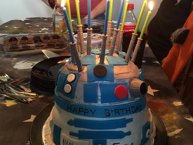 Remarkable Lightsaber Candle Holder By Brahm Funny Birthday Cards Online Sheoxdamsfinfo