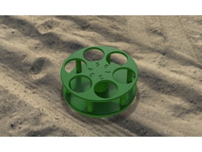 Cup holder for field and beach