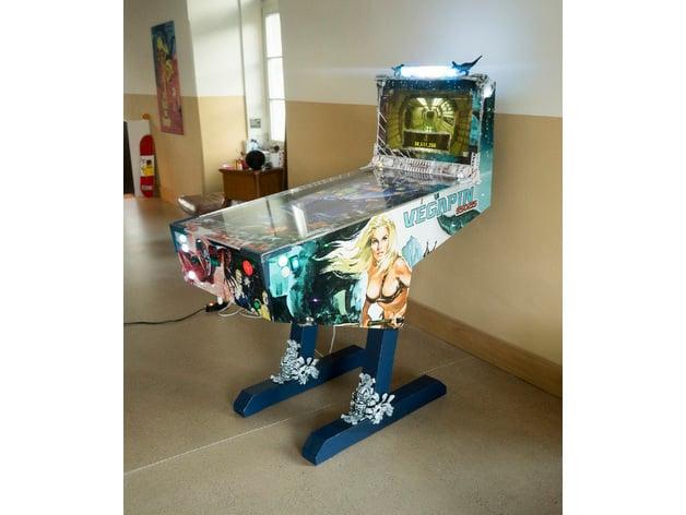 Vegapin Virtual Pinball Machine by sascharossier - Thingiverse