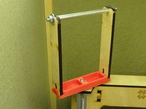 3DPlastX spool holder upgrade for Makerfarm i3v