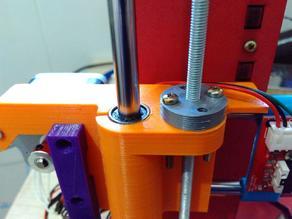 Leadscrew to treaded rod adapter