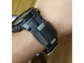 Phone charging adapter holder for watch