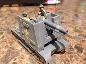 Pz 1 Bison Self Propelled Sig 33 - 28mm