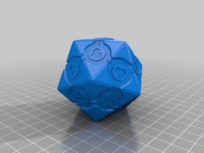 Companion Icosahedron - FIXED/REPAIRED