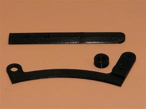 Drag Lever for Concept 2 Model B Rowing Machine