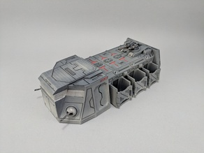 Sci-fi Troop Transport