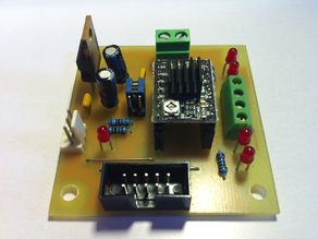 PSCC Stepper Controller mod for RepRap GEN3 electronics