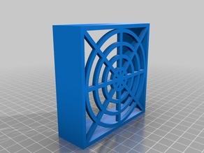 Protective cover for 80mm cooling fan