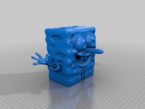 Echo dot sound amplifier-Spongebob