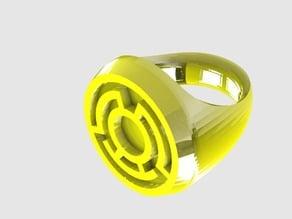 Yellow Lantern Ring (Sinestro Corps)
