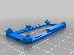 Prusa i3 MK3 - Raspberry Pi Zero mount frame Remix