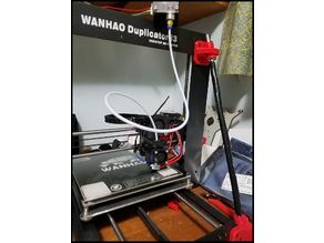 Wanhao Duplicator I3 Bowden Extruder for E3D V6  ReFresh
