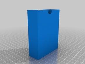 Parametric card deck holder
