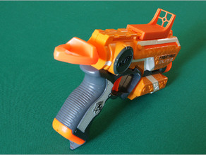 External sight for NERF N-STRIKE Blaster (TACTICAL RAIL compatible)