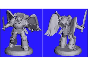 Winged Jump Pack 28mm