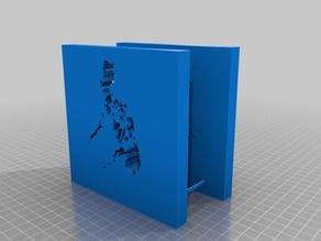 Philippine Map Napkin Holder