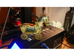 3D-Scan - antique TROJAN HORSE - High Quality!