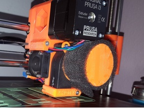 Prusa i3 MkII Extruder Fan Filter Cage