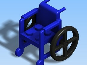 Lego Wheel Chair