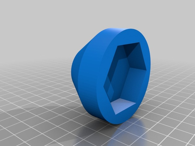 Volvo C30 Oil Filter Socket 3 8 Drive By Pengc99 Thingiverse