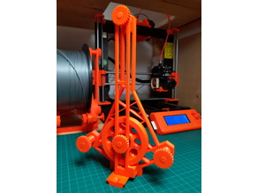 Standalone Filament Guide for Prusa MMU2