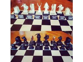 LDS Missionary Chess pieces