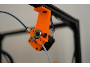 Hypercube Extruder Mount for 2020 Profiles Long Version