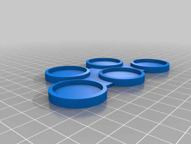 Movement trays for 25mm 40mm and 60mm round bases, great for