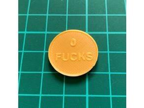 0 F**ks Coin