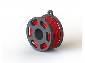 "Keychains ""coil with filament"""