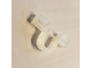 Drop Ceiling Cable Clip -- 8mm Opening
